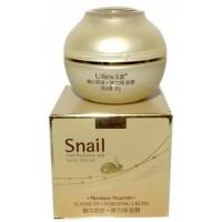 """Увлажняющий лифтинг-крем """"Snail"""" для кожи лица и шеи с экстрактом улитки ULLEX 55гр"""