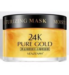 Ночная крем-маска Venzen 24k Pure Gold с ниацинамидом 120гр