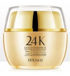 Крем для лица омолаживающий с 24-каратным золотом HOUMAI 50гр