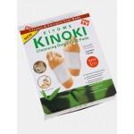 Пластырь KINOKI детоксикационный на стопу для выведения токсинов и шлаков в уп 10 шт