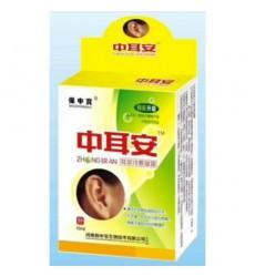 Капли для ушей при отите, потере слуха, шуме в ушах и глухоте ZHONG ERAN 10 ml
