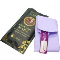 Кератиновая паровая Маска-шапочка для лечения волос, быстрое пятикратное восстановление волос