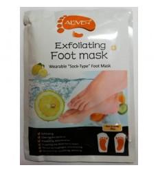 Пилинг-носочки - идеальная замена педикюру Лимон в уп. 1 пара