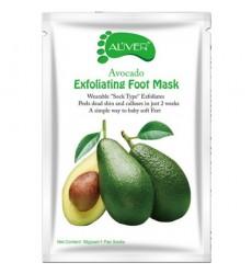 Пилинг-носочки - идеальная замена педикюру Масло авокадо в уп 1пара