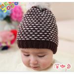 Детская шапочка ш12 (кофе)
